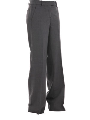 Michael Kors: Tailored & Formal trousers online - Wool wide trousers