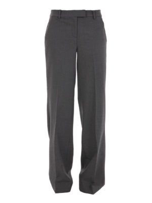 Michael Kors: Tailored & Formal trousers - Wool wide trousers