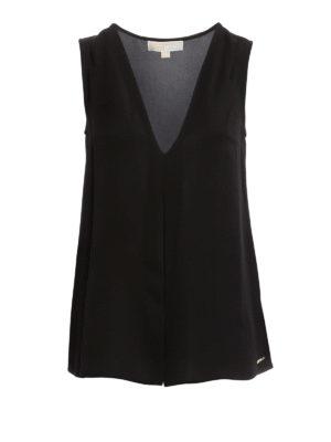 Michael Kors: Tops & Tank tops - Bicolor silk top
