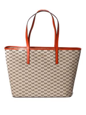 Michael Kors: totes bags - Emry large logo shopping bag