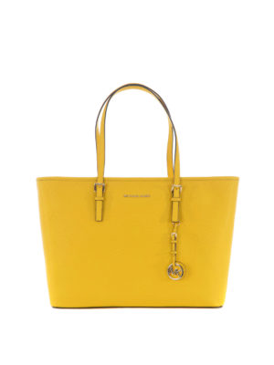 Michael Kors: totes bags - Jet Set Travel leather medium tote