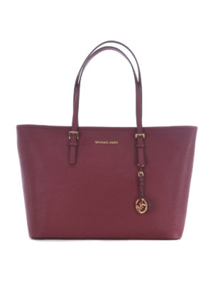 Michael Kors: totes bags - Jet Set Travel mulberry medium tote