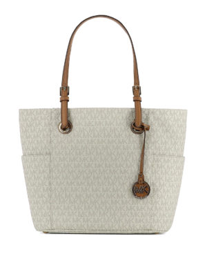 Michael Kors: totes bags - Jet Set Travel S coated twill tote