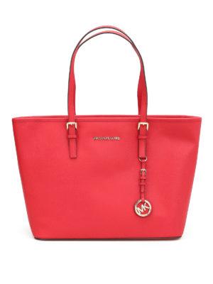 Michael Kors: totes bags - Jet Set Travel top zip tote