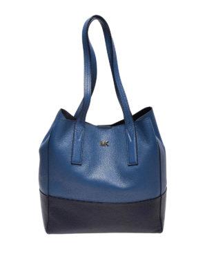629298f7b558 Jasmine M light beige leather handbag. 395.00 €. MICHAEL KORS: shopper -  Shopper Junie L in pelle blu