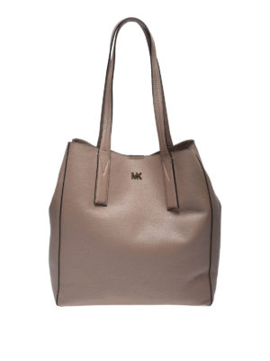MICHAEL KORS: shopper - Tote Junie grande color truffle