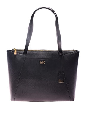 Michael Kors: totes bags - Maddie hammered leather tote