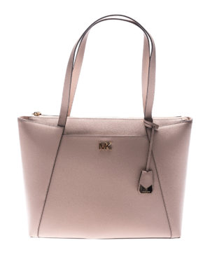 Michael Kors: totes bags - Maddie leather shopping bag