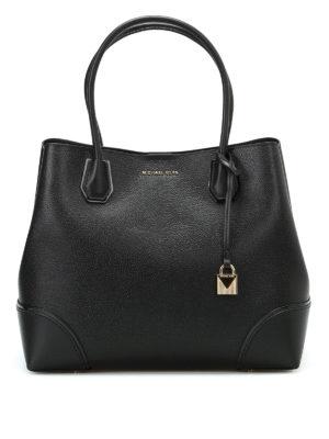 Michael Kors: totes bags - Mercer Corner black large tote