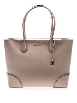 MICHAEL KORS: shopper - Tote Mercer Gallery beige con zip