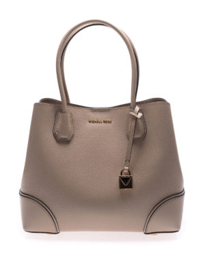 MICHAEL KORS: shopper - Borsa beige Mercer Gallery M