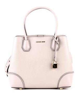 Michael Kors: totes bags - Mercer Gallery M leather bag