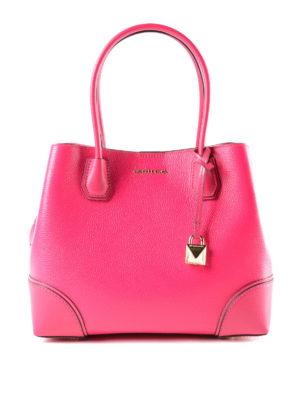 Michael Kors: totes bags - Mercer Gallery M ultra pink bag