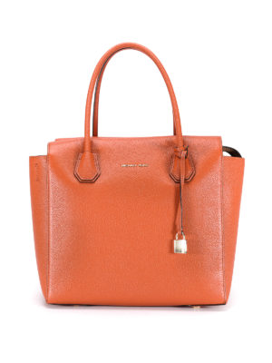 Michael Kors: totes bags - Mercer leather handbag