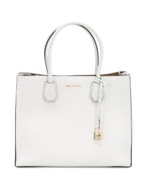 Michael Kors: totes bags - Mercer leather tote bag