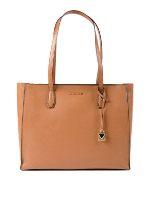 Michael Kors: totes bags - Mercer top zip large tote