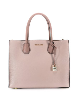 Michael Kors: totes bags - Mercer two-tone large tote