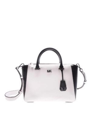 Michael Kors: totes bags - Nolita two-tone leather bag