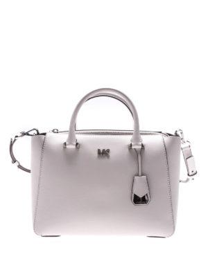 Michael Kors: totes bags - Nolita white leather bag