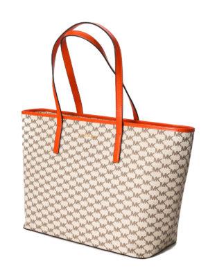 Michael Kors: totes bags online - Emry large logo shopping bag