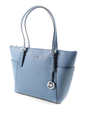 Michael Kors: totes bags online - Jet Set saffiano leather tote