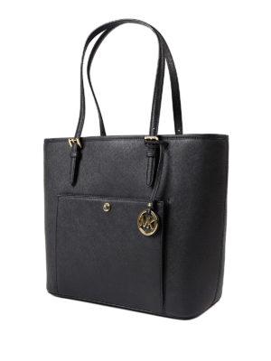 Michael Kors: totes bags online - Jet Set top zip large tote