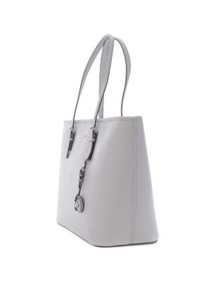 Michael Kors: totes bags online - Jet Set Travel medium pearl tote