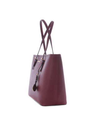 Michael Kors: totes bags online - Jet Set Travel mulberry medium tote