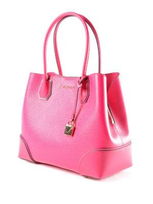 Michael Kors: totes bags online - Mercer Gallery M ultra pink bag