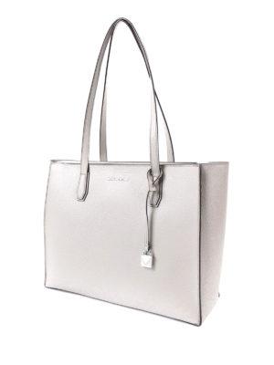 Michael Kors: totes bags online - Mercer top zip large pearl tote