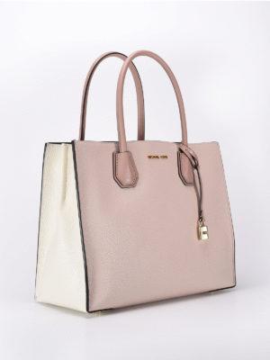 Michael Kors: totes bags online - Mercer two-tone large tote