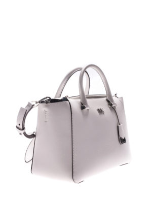 Michael Kors: totes bags online - Nolita white leather bag