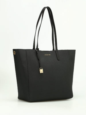 Michael Kors: totes bags online - Penny coated twill convertible tote