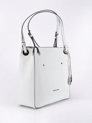 Michael Kors: totes bags online - Saffiano leather square tote