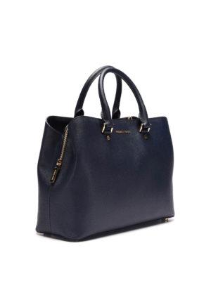 Michael Kors: totes bags online - Savannah saffiano handbag