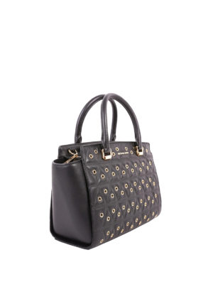Michael Kors: totes bags online - Selma quilted tote with eyelets