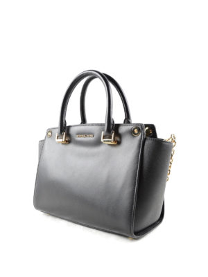 Michael Kors: totes bags online - Selma Swap leather tote