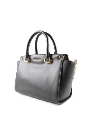 Michael Kors: totes bags online - Selma Swap leather tote
