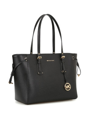 Michael Kors: totes bags online - Voyager leather medium shopper