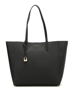 Michael Kors: totes bags - Penny coated twill convertible tote