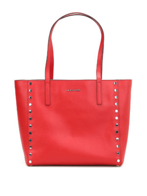 Michael Kors: totes bags - Rivington large studded tote