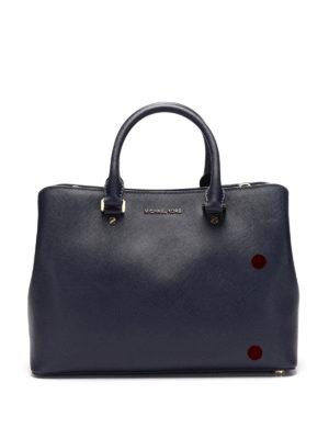 Michael Kors: totes bags - Savannah saffiano handbag