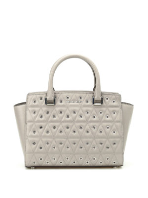 Michael Kors: totes bags - Selma medium shopper with eyelets