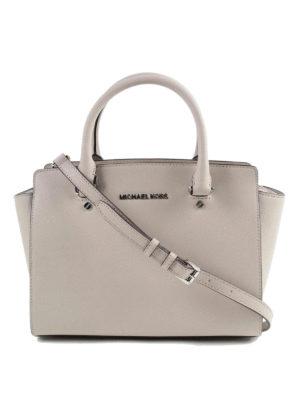 Michael Kors: totes bags - Selma medium top zip tote