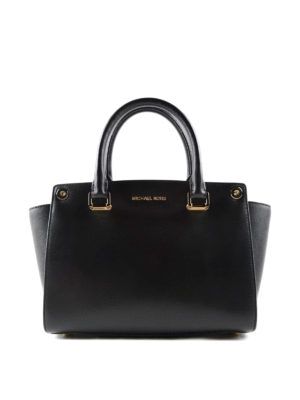 Michael Kors: totes bags - Selma Swap leather tote