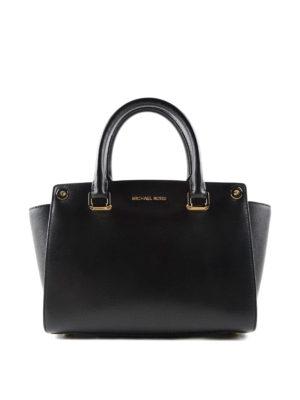Michael Kors: totes bags - Selma Swap leather tote