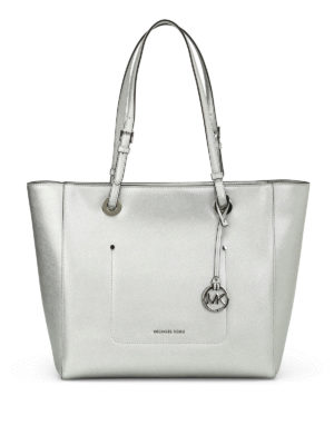 Michael Kors: totes bags - Walsh saffiano leather tote