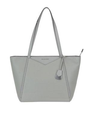 MICHAEL KORS: shopper - Shopper grigio perla Whitney L