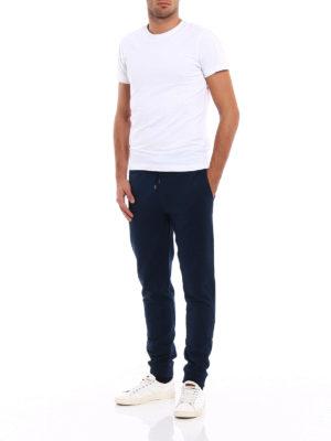 Michael Kors: tracksuit bottoms online - Stretch cotton tracksuit bottoms