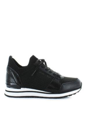 MICHAEL KORS: sneakers - Sneaker slip on Billie con inserti in pelle